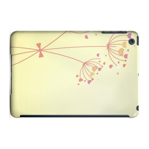 Geeks Designer Line (GDL) Slim Hard Case for Apple iPad Mini - Dandelion Hearts on Yellow
