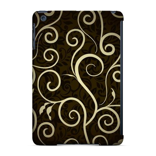 Geeks Designer Line (GDL) Slim Hard Case for Apple iPad Mini - Elegant Dark Vines