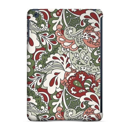 Geeks Designer Line (GDL) Slim Hard Case for Apple iPad Mini - Green/ Red/ Pink Paisley