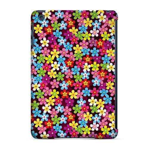 Geeks Designer Line (GDL) Slim Hard Case for Apple iPad Mini - Multi-Colored Flowers