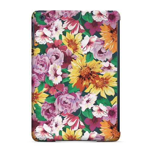 Geeks Designer Line (GDL) Slim Hard Case for Apple iPad Mini - Pink/ Orange Flowers