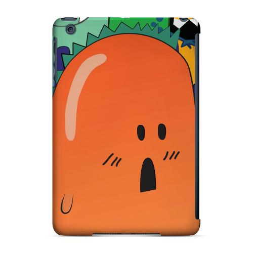 Geeks Designer Line (GDL) Slim Hard Case for Apple iPad Mini - ZORGBLATS Orange Moob Close-Up
