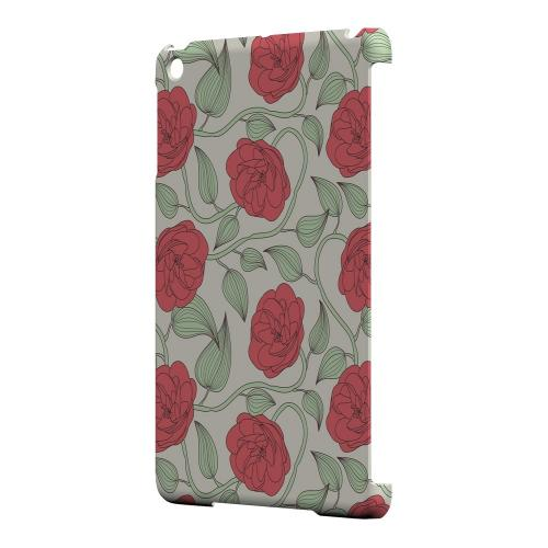 Geeks Designer Line (GDL) Slim Hard Case for Apple iPad Mini - Roses & Vines