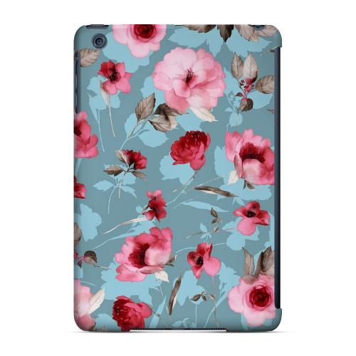 Geeks Designer Line (GDL) Slim Hard Case for Apple iPad Mini - Vintage Watercolor Roses