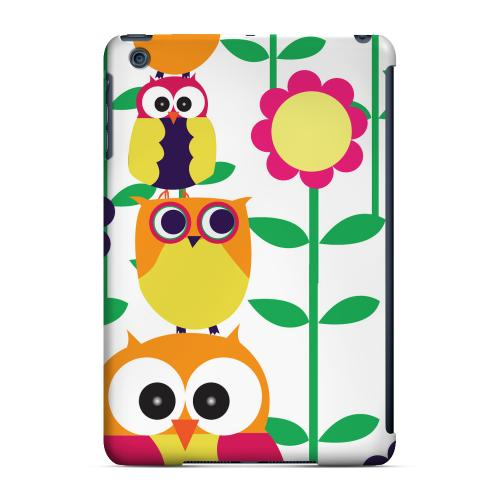 Geeks Designer Line (GDL) Slim Hard Case for Apple iPad Mini - Colorful Owl Tower