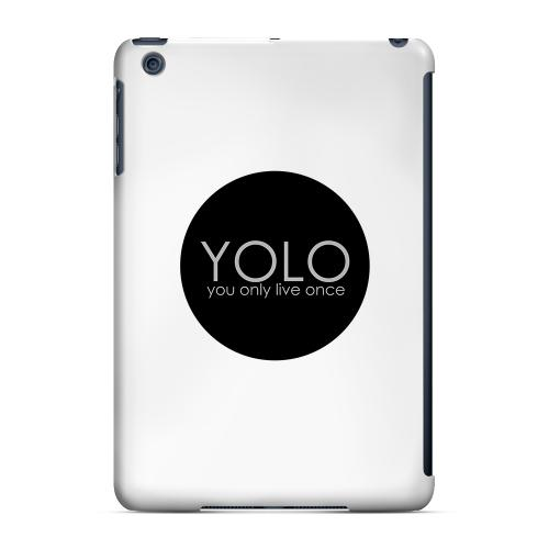 Geeks Designer Line (GDL) Slim Hard Case for Apple iPad Mini - YOLO Circle