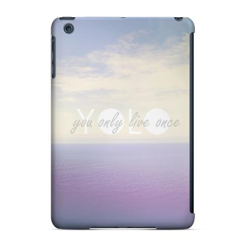 Geeks Designer Line (GDL) Slim Hard Case for Apple iPad Mini - Filled YOLO