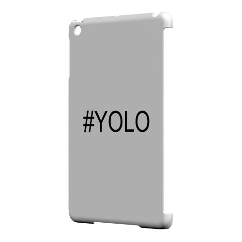 Geeks Designer Line (GDL) Slim Hard Case for Apple iPad Mini - #YOLO