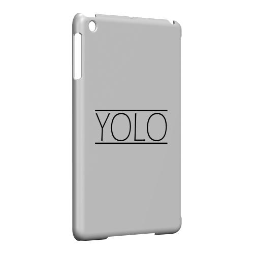 Geeks Designer Line (GDL) Slim Hard Case for Apple iPad Mini - Modern YOLO