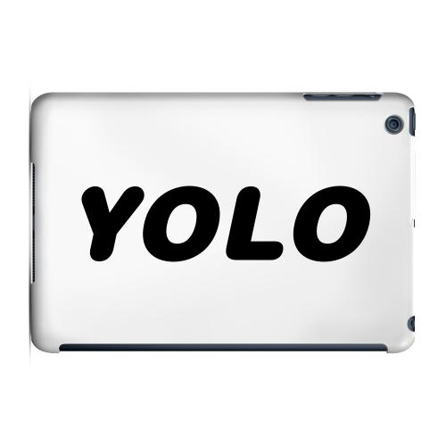 Geeks Designer Line (GDL) Slim Hard Case for Apple iPad Mini - Rounded YOLO
