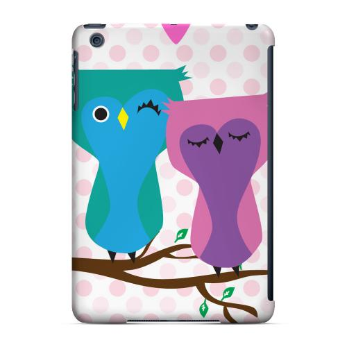 Geeks Designer Line (GDL) Slim Hard Case for Apple iPad Mini - Owl Love You Forever