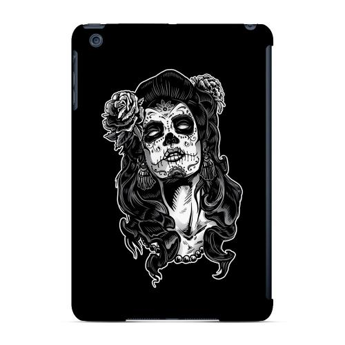 Geeks Designer Line (GDL) Slim Hard Case for Apple iPad Mini - Day of the Dead Girl on Black