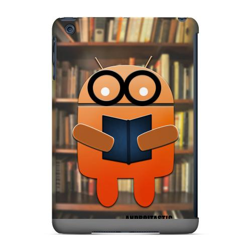 Geeks Designer Line (GDL) Slim Hard Case for Apple iPad Mini - Studious Orange Robot