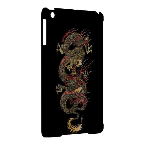 Geeks Designer Line (GDL) Slim Hard Case for Apple iPad Mini - Dragon on Black