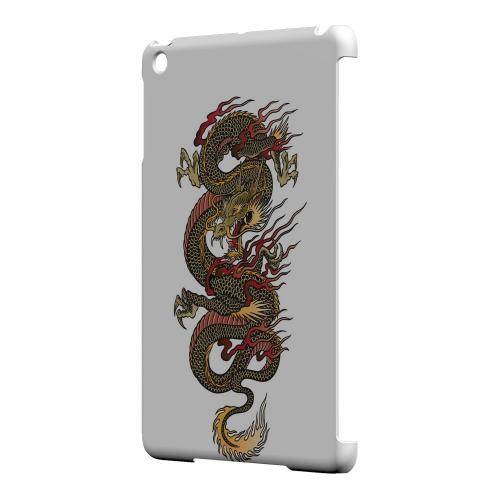 Geeks Designer Line (GDL) Slim Hard Case for Apple iPad Mini - Dragon on White