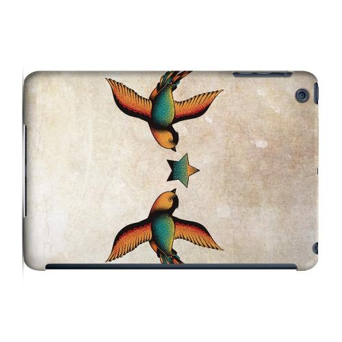 Geeks Designer Line (GDL) Slim Hard Case for Apple iPad Mini - Dual Swallow Star