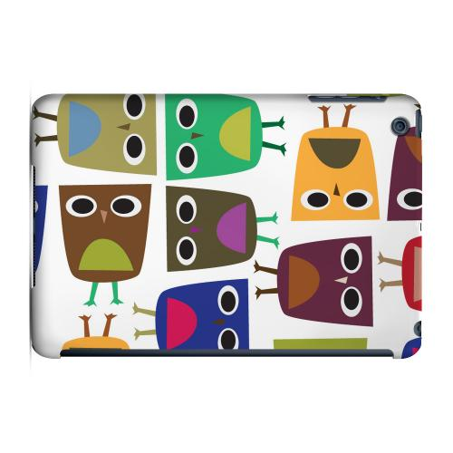 Geeks Designer Line (GDL) Slim Hard Case for Apple iPad Mini - Quadrilateral Owl Configuration