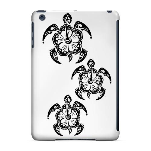 Geeks Designer Line (GDL) Slim Hard Case for Apple iPad Mini - Island Turtle Trail