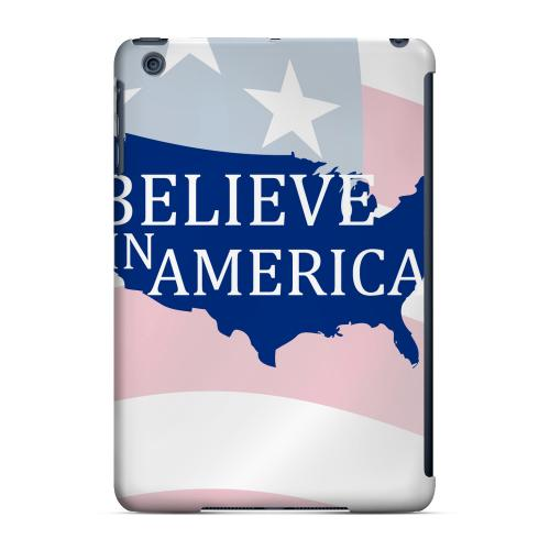 Geeks Designer Line (GDL) Slim Hard Case for Apple iPad Mini - Believe in America
