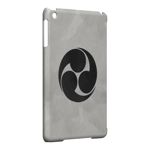 Geeks Designer Line (GDL) Slim Hard Case for Apple iPad Mini - Tomoe Kamon on Paper v.1