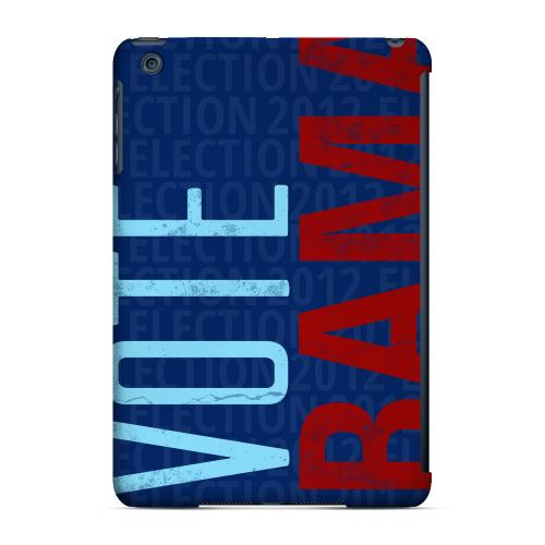 Geeks Designer Line (GDL) Slim Hard Case for Apple iPad Mini - Red/Blue Obama