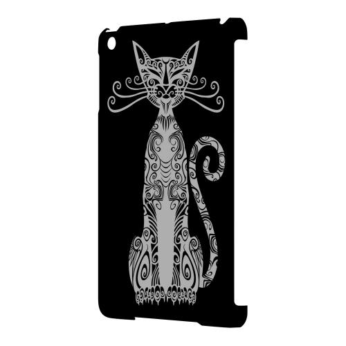 Geeks Designer Line (GDL) Slim Hard Case for Apple iPad Mini - Kitty Nouveau on Black