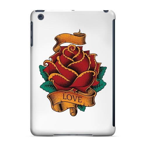 Geeks Designer Line (GDL) Slim Hard Case for Apple iPad Mini - Love Rose on White