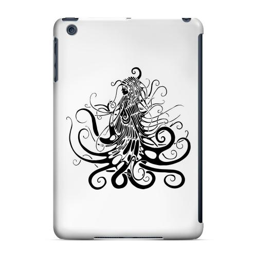 Geeks Designer Line (GDL) Slim Hard Case for Apple iPad Mini - Black Medua on White