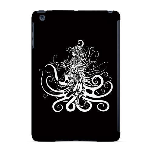 Geeks Designer Line (GDL) Slim Hard Case for Apple iPad Mini - White Medusa on Black