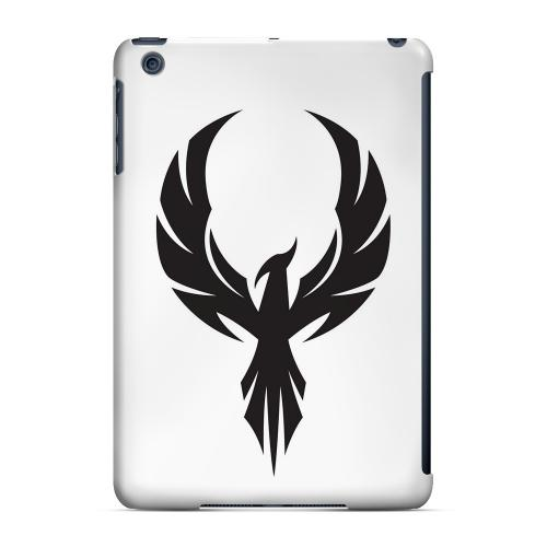 Geeks Designer Line (GDL) Slim Hard Case for Apple iPad Mini - Black Phoenix on White