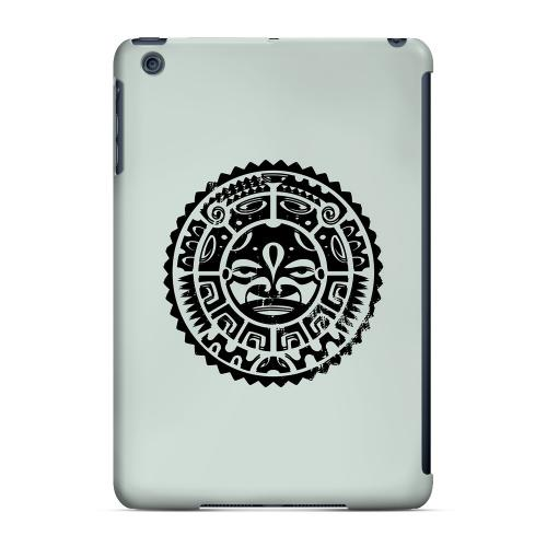 Geeks Designer Line (GDL) Slim Hard Case for Apple iPad Mini - Polynesian Face on Gray