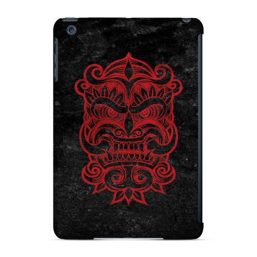 Geeks Designer Line (GDL) Slim Hard Case for Apple iPad Mini - Red Devil Mask
