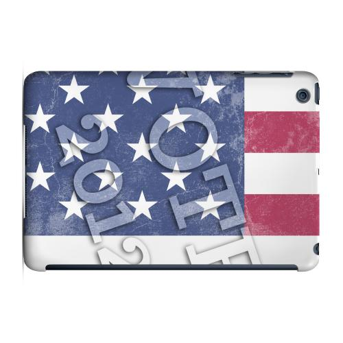 Geeks Designer Line (GDL) Slim Hard Case for Apple iPad Mini - Vote America