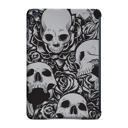 Geeks Designer Line (GDL) Slim Hard Case for Apple iPad Mini - Skulls Rose Gray