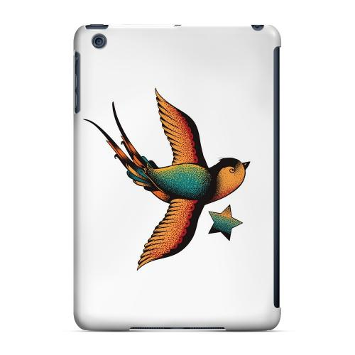 Geeks Designer Line (GDL) Slim Hard Case for Apple iPad Mini - Swallow Star on White