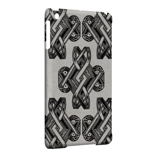 Geeks Designer Line (GDL) Slim Hard Case for Apple iPad Mini - Tribal Art