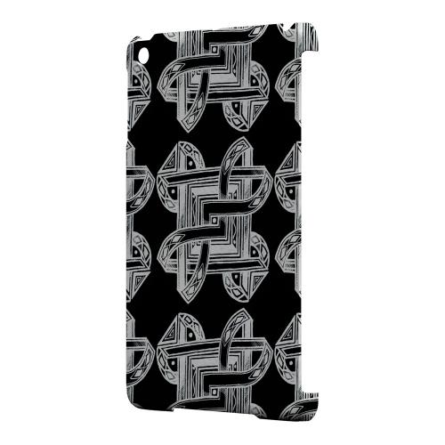 Geeks Designer Line (GDL) Slim Hard Case for Apple iPad Mini - Tribal Art Pattern on Black