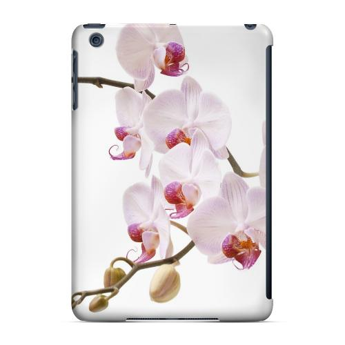 Geeks Designer Line (GDL) Slim Hard Case for Apple iPad Mini - White Pink Orchid