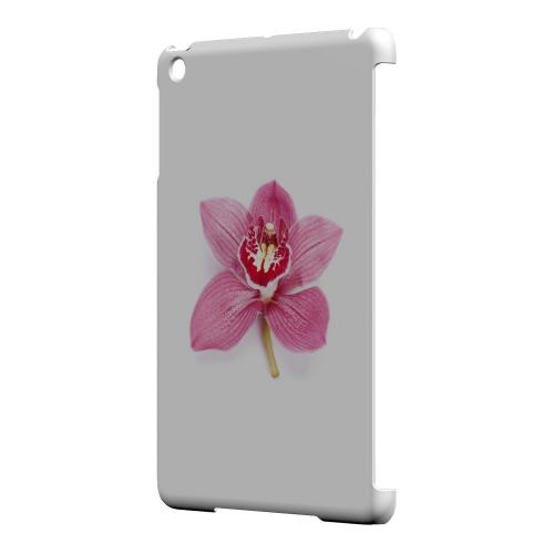 Geeks Designer Line (GDL) Slim Hard Case for Apple iPad Mini - Single Pink Orchid Flower