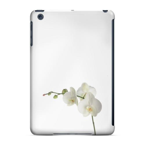 Geeks Designer Line (GDL) Slim Hard Case for Apple iPad Mini - Simple White Orchid