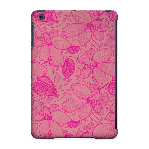 Geeks Designer Line (GDL) Slim Hard Case for Apple iPad Mini - Pink on Pink Orchid Lines
