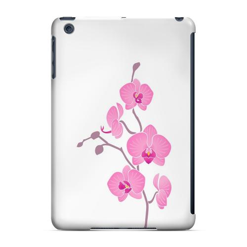 Geeks Designer Line (GDL) Slim Hard Case for Apple iPad Mini - Pink Minimal Orchid Art