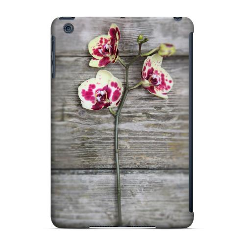Geeks Designer Line (GDL) Slim Hard Case for Apple iPad Mini - Orchid on Wood