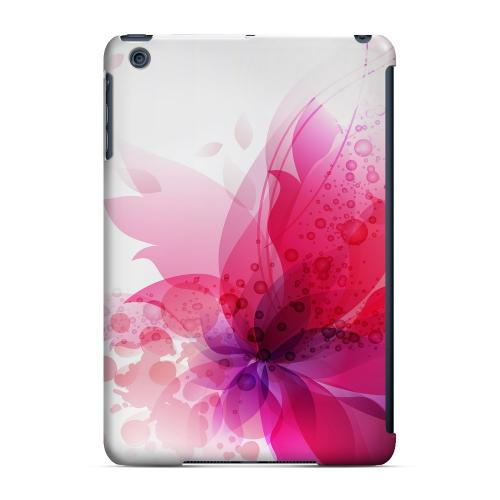 Geeks Designer Line (GDL) Slim Hard Case for Apple iPad Mini - Hot Pink Orchid Swoosh Fade