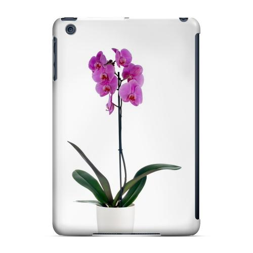 Geeks Designer Line (GDL) Slim Hard Case for Apple iPad Mini - Hot Pink Orchid Plant
