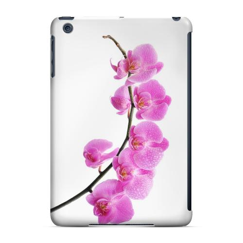 Geeks Designer Line (GDL) Slim Hard Case for Apple iPad Mini - Hot Pink Orchid Curved Branch
