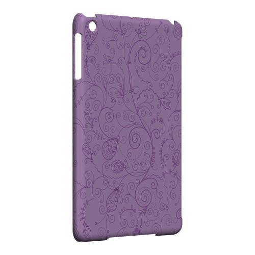 Geeks Designer Line (GDL) Slim Hard Case for Apple iPad Mini - Floral 1 African Violet