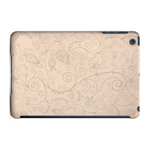 Geeks Designer Line (GDL) Slim Hard Case for Apple iPad Mini - Floral 1 Linen