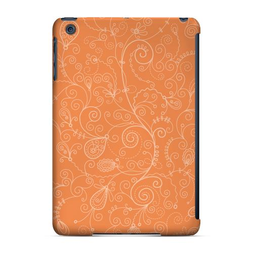 Geeks Designer Line (GDL) Slim Hard Case for Apple iPad Mini - Floral 1 Nectarine