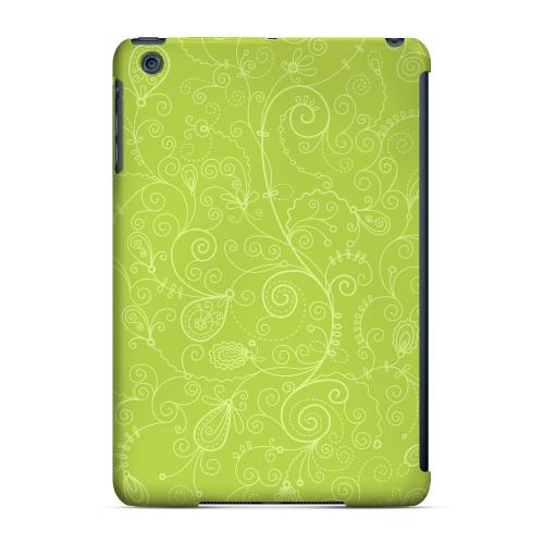 Geeks Designer Line (GDL) Slim Hard Case for Apple iPad Mini - Floral 1 Tender Shoots